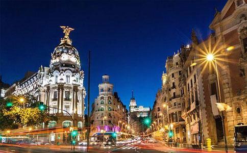 西班牙夜景