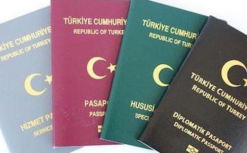 土耳其各类护照