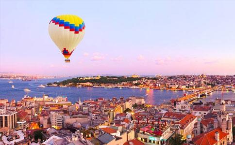 土耳其城市景色