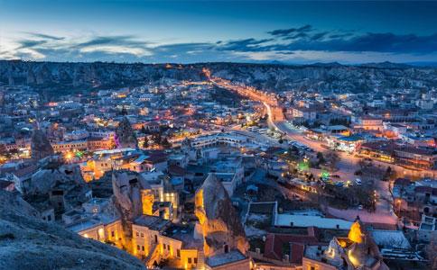土耳其夜色风景