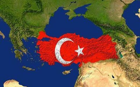 土耳其地理位置
